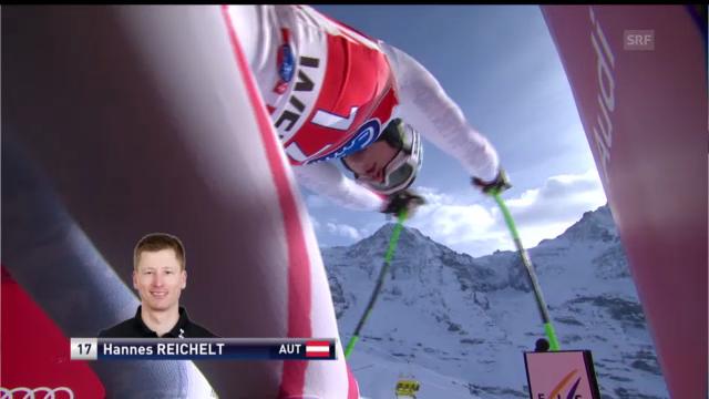 Die Fahrt von Hannes Reichelt («sportlive»)