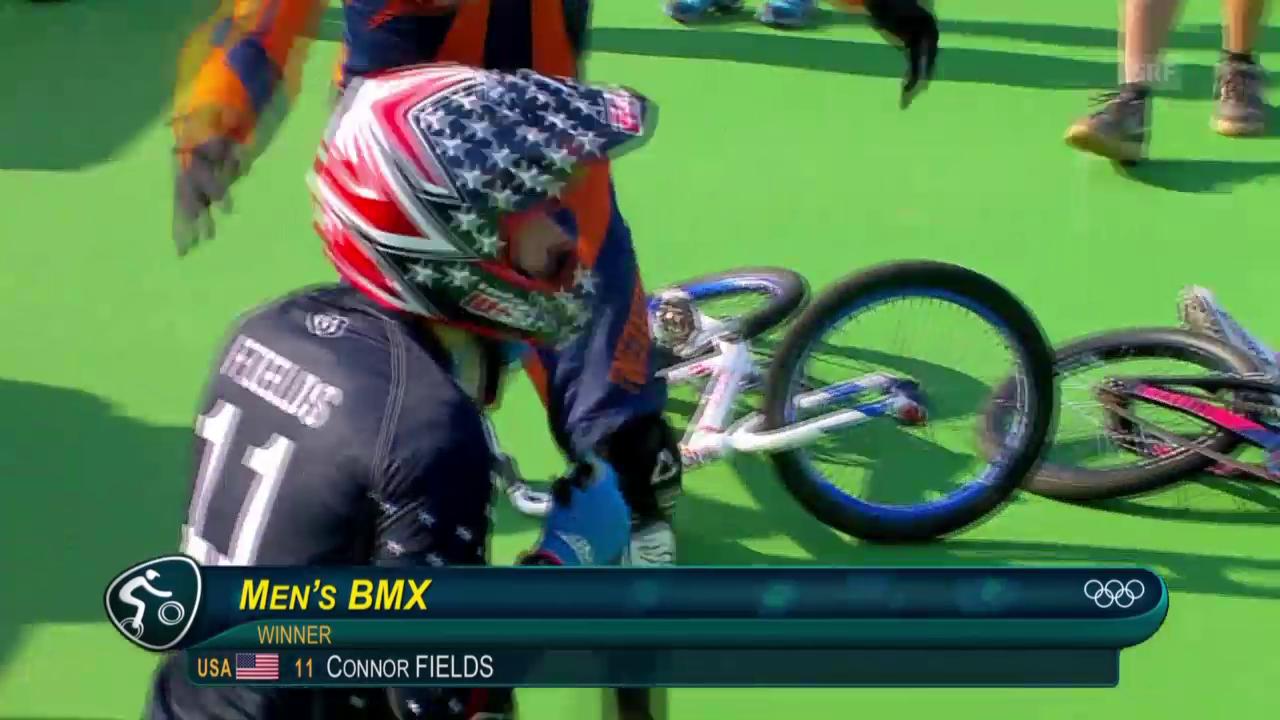 Fields rast zu BMX-Gold