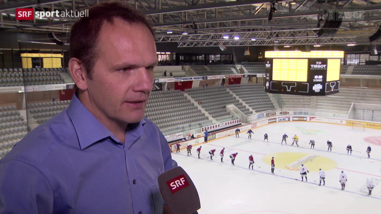 Eishockey: Der EHC Biel in seinem neuen Stadion
