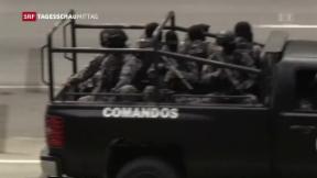 Video «Venezuela: Militäroperation gegen Aufständische» abspielen