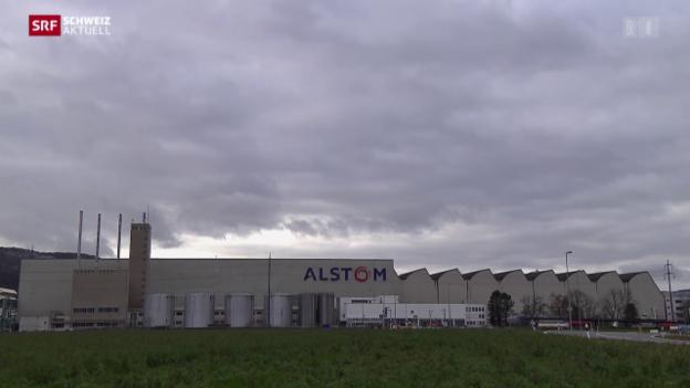 Video «Schwerer Schlag für Alstom-Standort Birr» abspielen