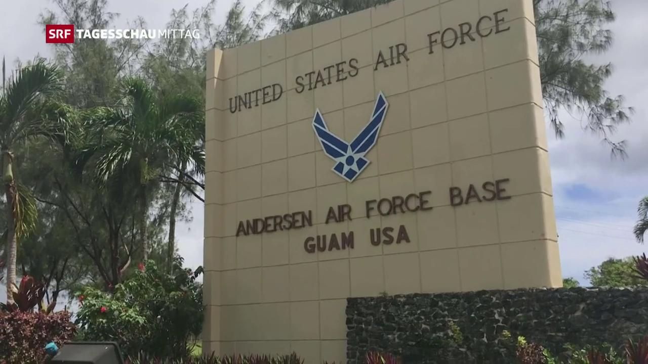 Insel Guam als Angriffsziel