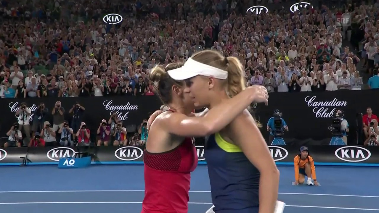 Wozniacki triumphiert in Melbourne