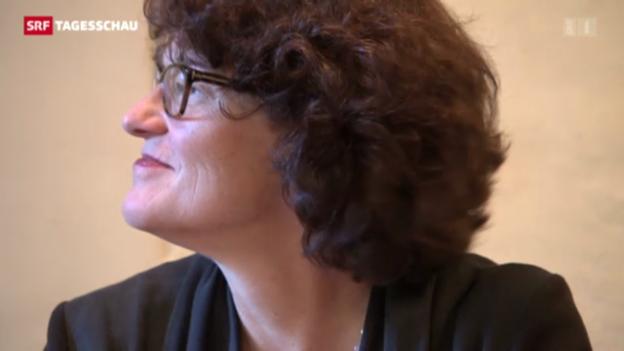 Video «Ruth Genner tritt nicht nochmals an» abspielen