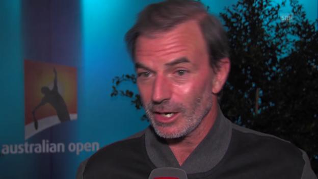 Video «SRF-Experte Heinz Günthardt über die Zukunft des Schweizer Tennis'» abspielen