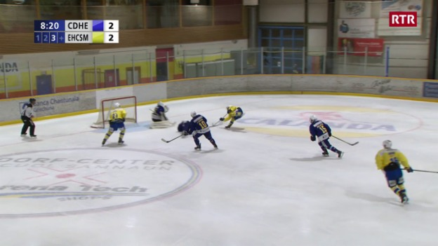 Laschar ir video «Il terz gol per San Murezzan tras Jan Tichy»