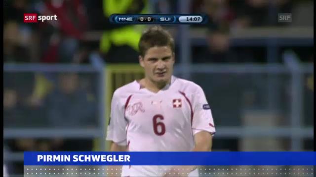 Fussball: Schwegler bleibt in Frankfurt («sportaktuell»)