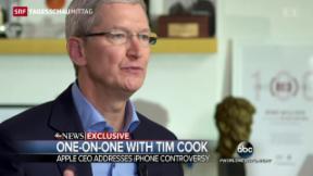 Video «Apple sagt weiterhin Nein zum FBI» abspielen