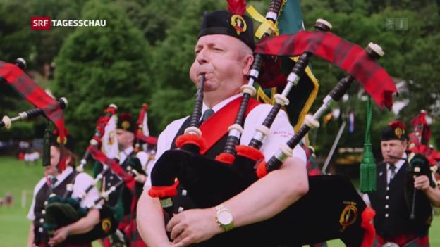 Video «Gleich zwei Probleme: Brexit und Schottland» abspielen
