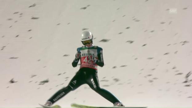 Video «Ammann freut sich über soliden Quali-Sprung» abspielen