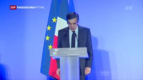 Video «Hausdurchsuchung bei Fillon» abspielen