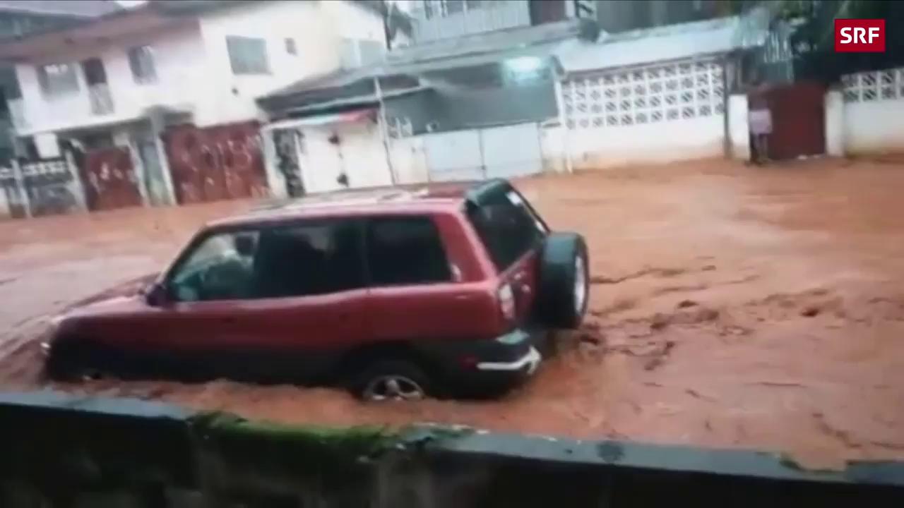 Über 300 Tote nach Erdrutsch und Überschwemmungen