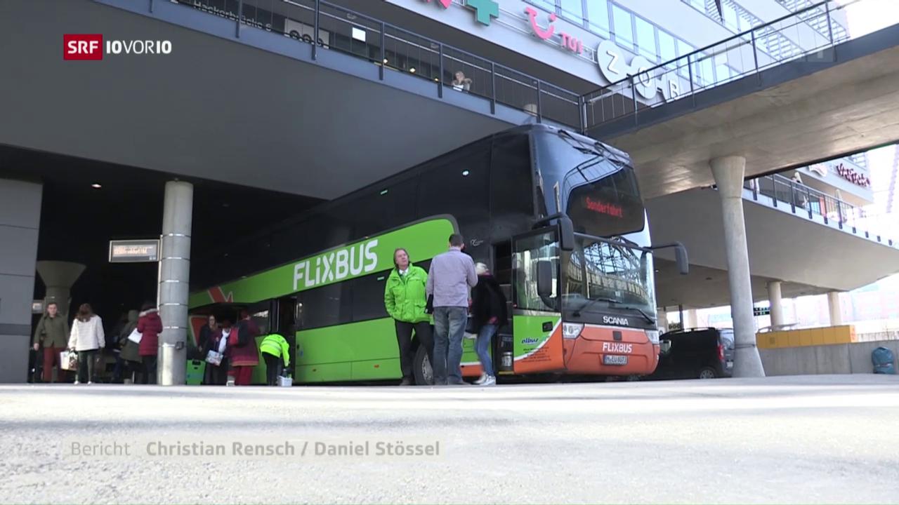 Flixbus will die Schweiz erobern