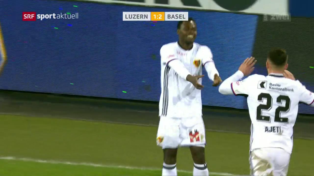 Lang führt Basel zum Sieg in Luzern