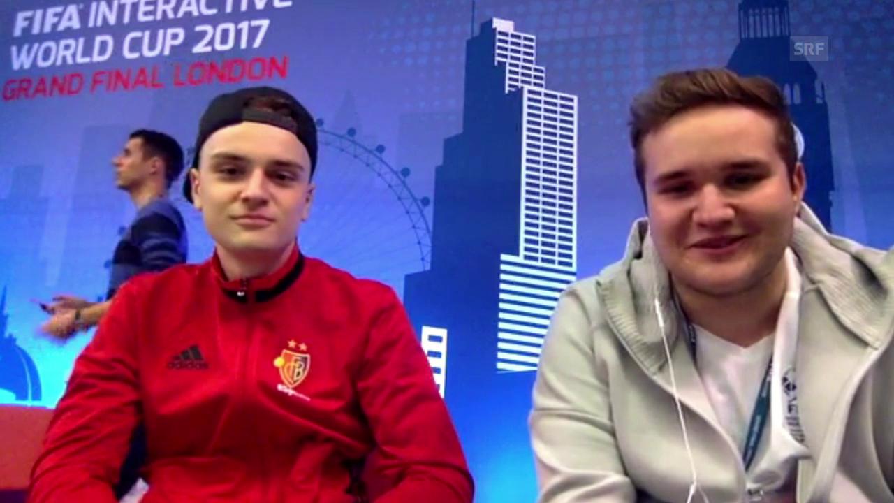 Gamer Katnawatos: «Trage den Trainingsanzug des FC Basel oft»
