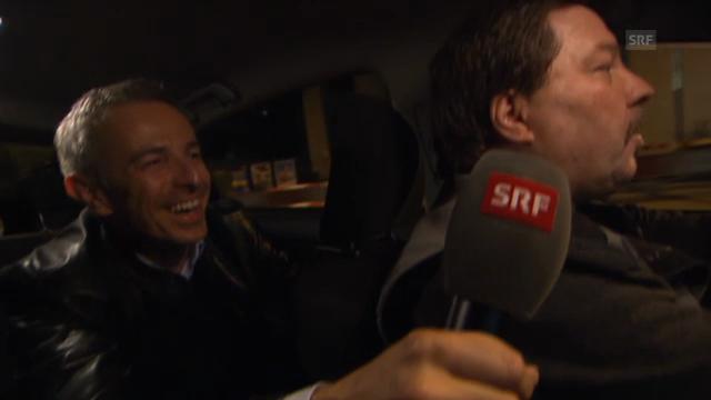 Dani Fohrler unterwegs mit dem Taxi