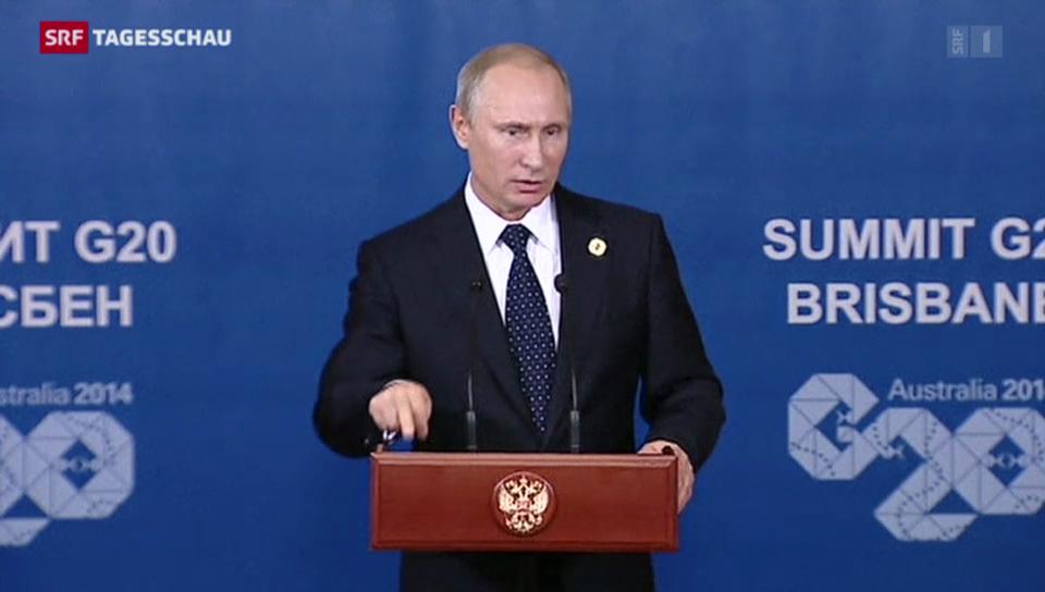 G20-Gipfel im Schatten der Ukraine