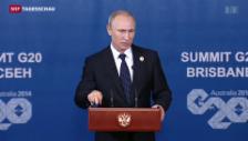 Video «G20-Gipfel im Schatten der Ukraine» abspielen