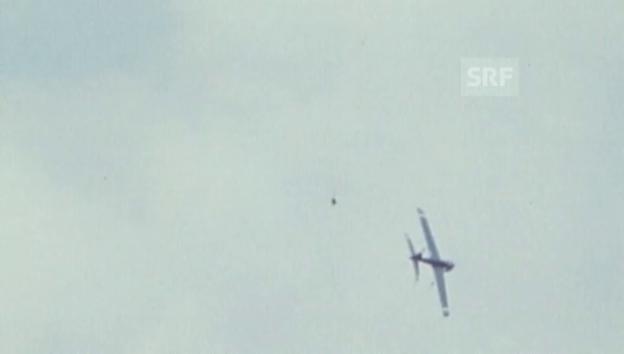 Video «Akrobatik an der Modellflug WM 1975 in Bern» abspielen