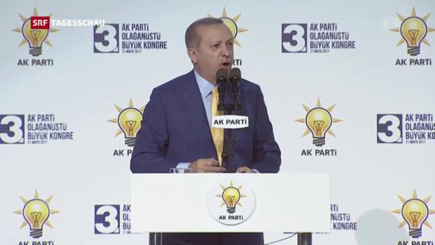 Video «Erdogan wieder Chef der AKP» abspielen