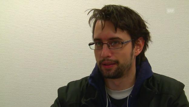 Video «Clemens J. Setz über seinen ersten Satz» abspielen