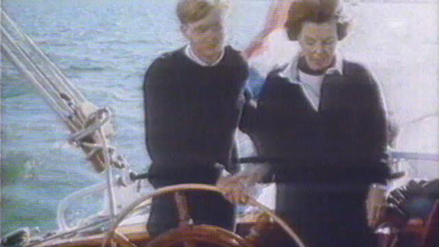 Ein Familienausflug auf dem Schiff in den 70er Jahren