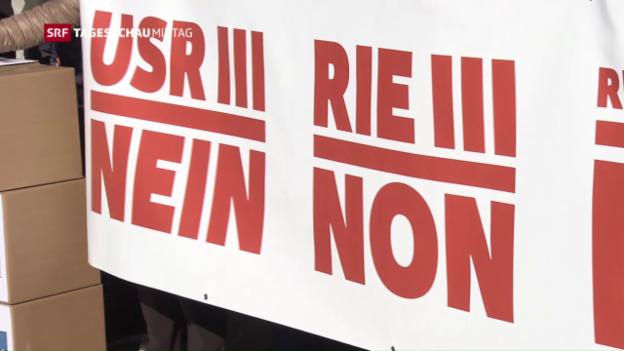 Video «Referendum gegen USR III steht» abspielen