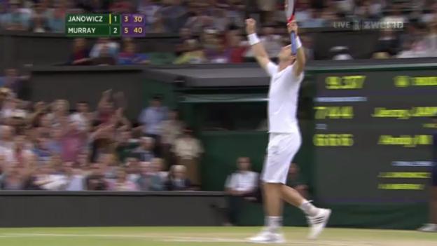 Video «Murray - Janowicz: Entscheidende Bälle («sportlive»)» abspielen