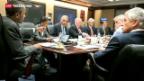 Video «Internationale Reaktionen zur Entwicklung in Ägypten» abspielen