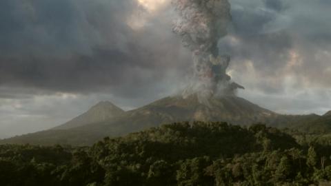 Rätselhafter Vulkanausbruch