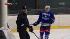 Video «Eishockey: Trainerwechsel bei den ZSC Lions» abspielen