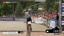 Video «Mountainbike: Weltcup in Windham» abspielen