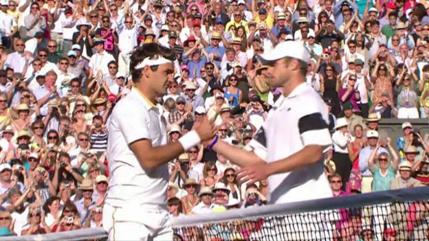Video «Roddick hat auch im 3. Anlauf das Nachsehen» abspielen