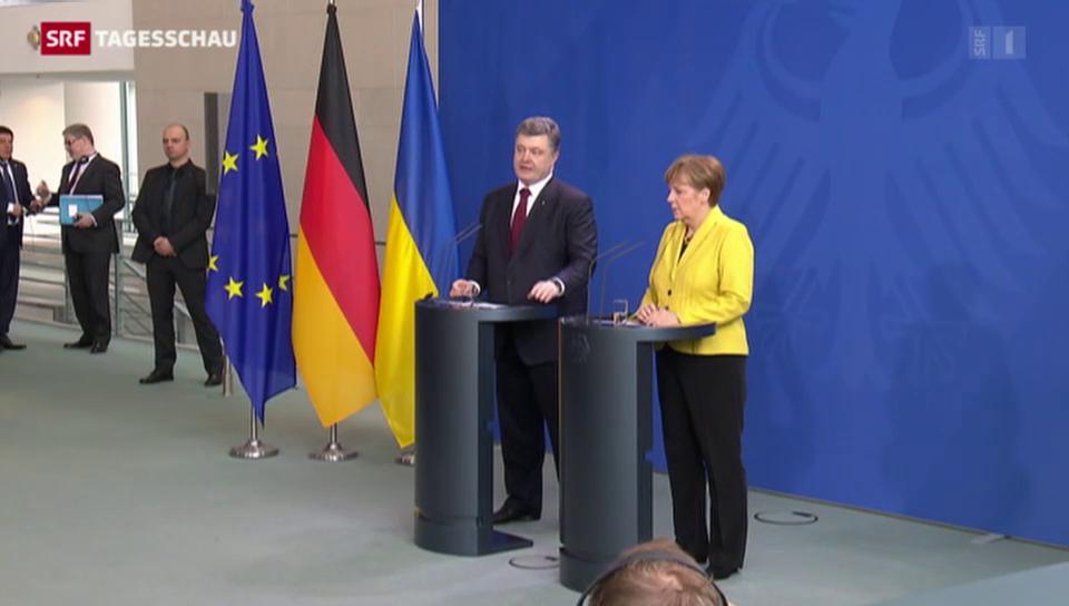 Poroschenko in Berlin
