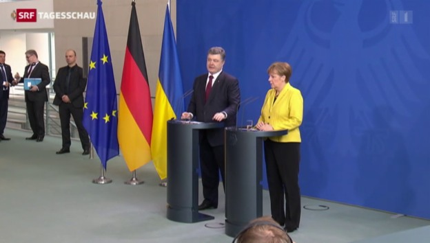 Video «Poroschenko in Berlin» abspielen