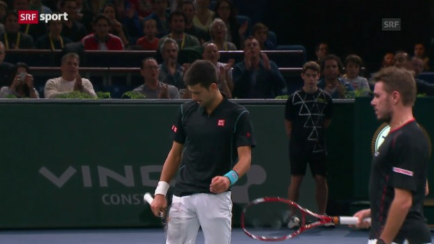 Video «Tennis: Wawrinka - Djokovic («sportaktuell»)» abspielen