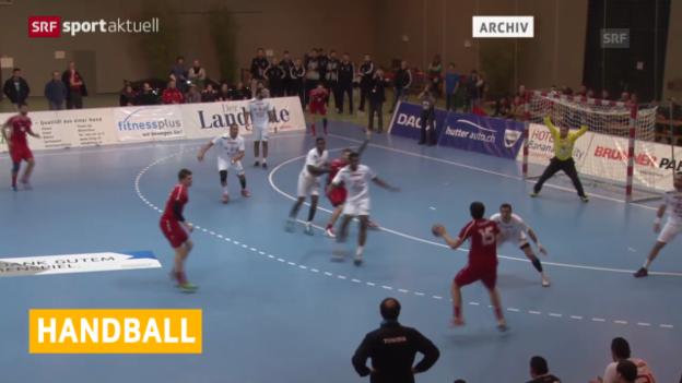 Video «Handball: Länderspiel-Test, Österreich - Schweiz» abspielen