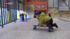 Video «Kalte Freestylehalle in Zürich» abspielen