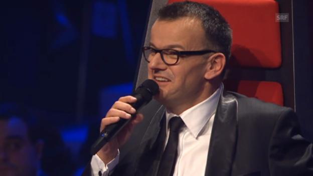 Video «Fankhauser macht erste Andeutungen bei «The Voice of Switzerland»» abspielen