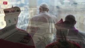Video «Papst spricht Weihnachtsbotschaft» abspielen