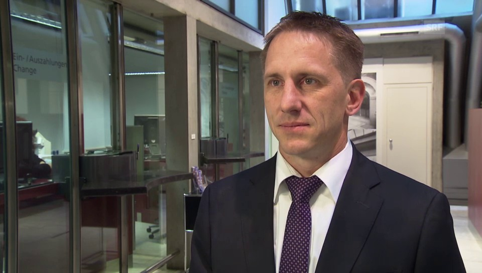 Marc Andrey, Valiant Bank, zum Umrüstungsaufwand bei den Banken