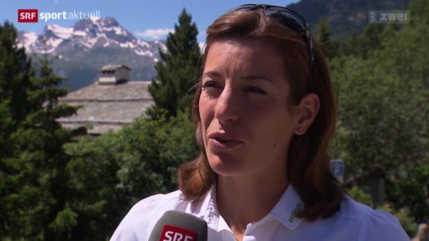 Video «Leichtathletik: Nicola Spirigs EM-Vorbereitung in St. Moritz» abspielen