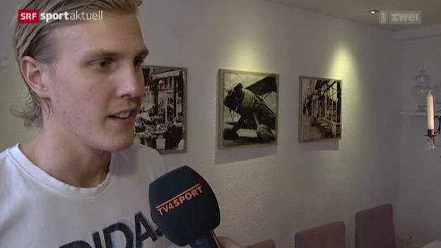 Video «Unihockey: Kim Nilsson wechselt zu GC» abspielen