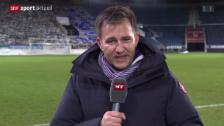 Video «Fussball: Sascha Ruefer über den Abgang von Alex Frei» abspielen