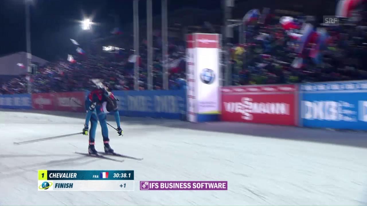 Biathlon: Französische Siege in Nove Mesto