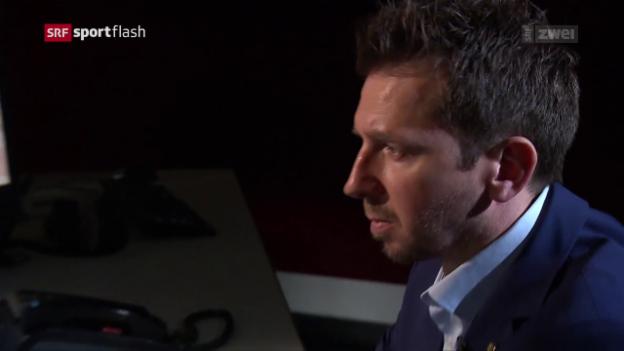 Video «Lars beerbt Sven Leuenberger beim SCB» abspielen