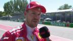 Video «Vettel sichert sich in Kanada die Pole» abspielen