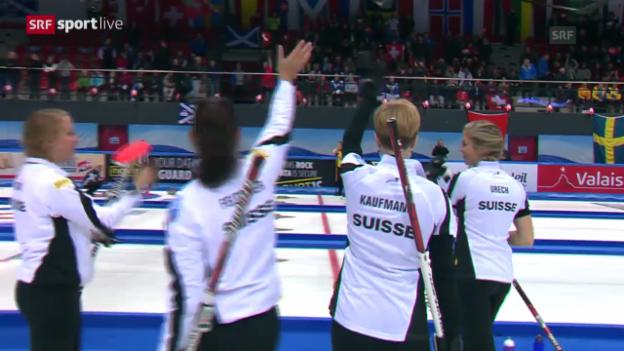 Video «Curling: Schweizer Equipen in den Playoffs» abspielen