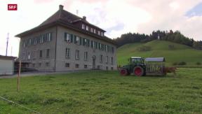 Video «Schafhausen im Emmental: Scharfe Worte im Streit um Asylzentrum» abspielen
