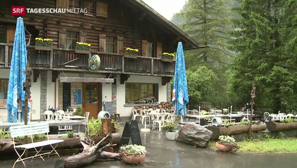 Schweizer Berghütten bleiben leer
